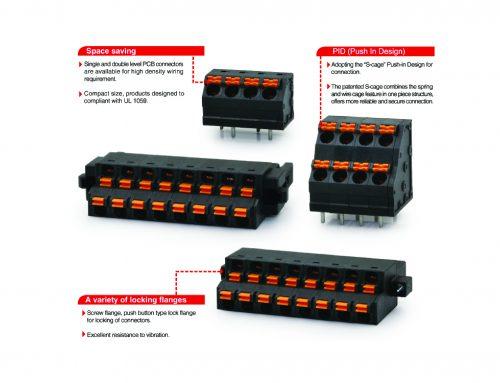 Dinkle 0225 series terminal block
