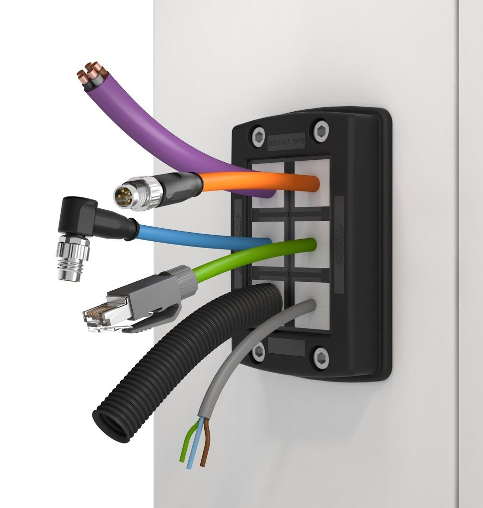 Press Release: Conta-Clip Easy-mount cable entry with IP66 Ingress ...